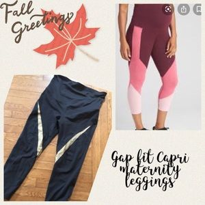 Gap fit Capri maternity leggings